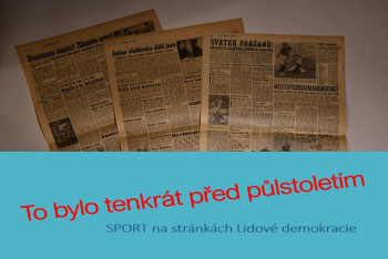 Před padesáti lety českoslovenští cyklisté po šesté etapě Závodu míru získali modré trikoty