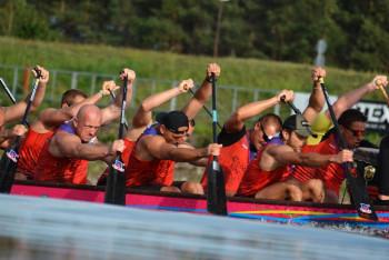 Po rychlostní kanoistice bude v Labe aréně další mistrovství Česka tentokrát dračích lodí